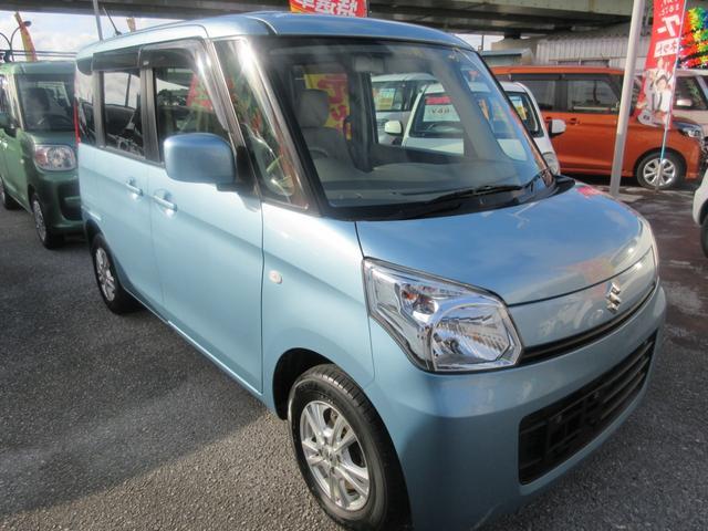 「スズキ」「スペーシア」「コンパクトカー」「沖縄県」の中古車3