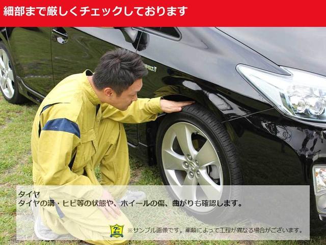 タイヤの溝やヒビ等の状態やホイールのキズや凹み、曲がりも確認します。