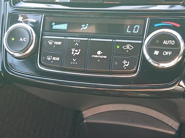 エアコン操作パネル