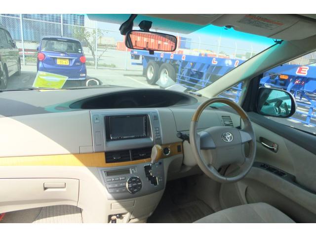 トヨタ エスティマ G / DVD・HDDナビ・ワンセグTV・両側パワースライド