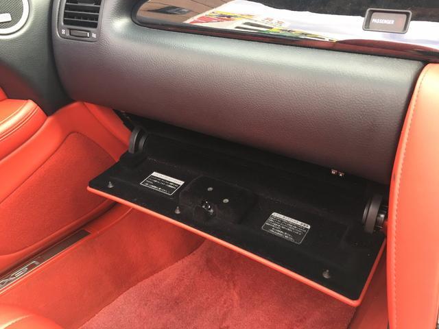 レクサス SC SC430  赤革シート  純正マルチナビ