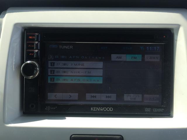 スズキ ハスラー Gターボ  レーダーブレーキサポート 社外DVDプレーヤー