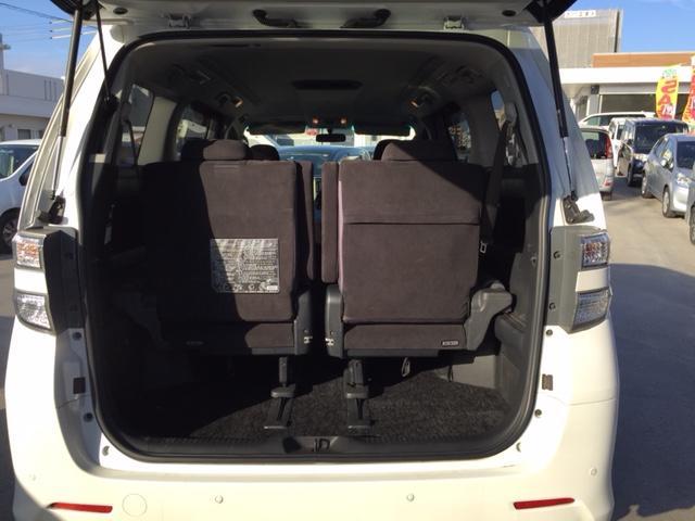 トヨタ ヴェルファイア 2.4Z プラチナムセレクション 両側パワースライドドア