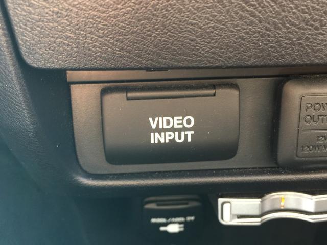 RSZ特別仕様車 HDDナビエディション 後席モニター(19枚目)