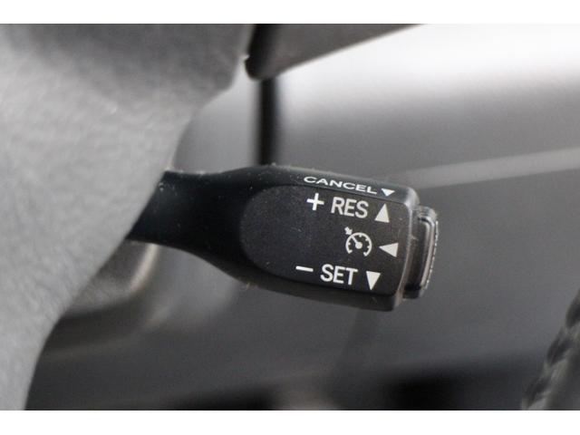 クルーズコントロール装備でロングドライブも快適