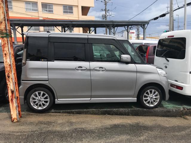 「スズキ」「スペーシアカスタム」「コンパクトカー」「沖縄県」の中古車8