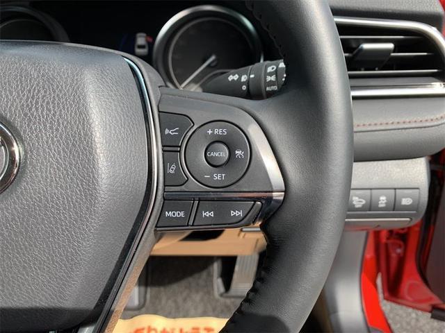 ステアリング右スイッチ・レーダークルーズコントロールスイッチ・車間距離切替スイッチ・車線逸脱警報機能スイッチ・