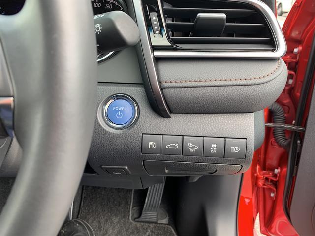 プッシュスタートスイッチ/給油扉オープナースイッチ/トランクオープナースイッチ/車両接近通報一時停止スイッチ/VSCOFFスイッチ/オートマチックハイビームスイッチ