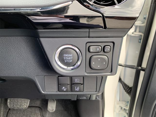 プッシュスタートスイッチ・ドアミラー調整スイッチ・オートマチックハイビームスイッチ・プリクラッシュセーフテイスイッチ・車線逸脱警報機能スイッチ・