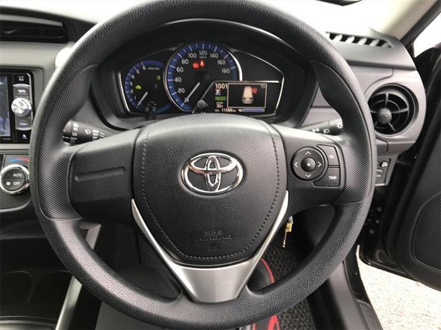 ハンドル周りです。運転している間、長く触れているものだから手に馴染むハンドルがいいですよね!