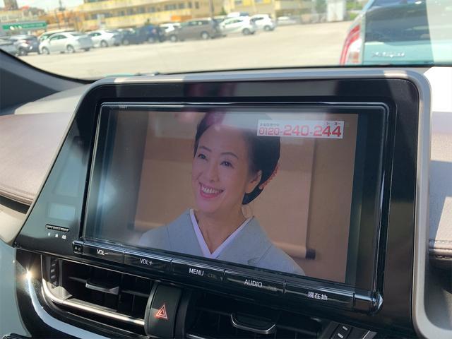 駐車中にテレビ視聴可