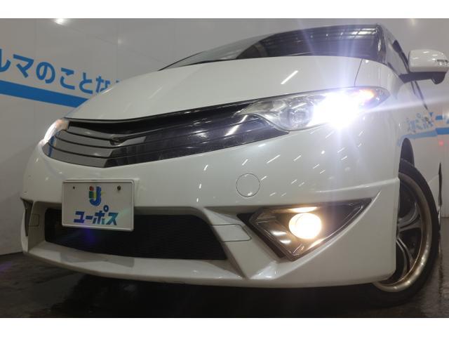 トヨタ エスティマ アエラス エアロツアラー 両側パワースライドドア HDDナビ