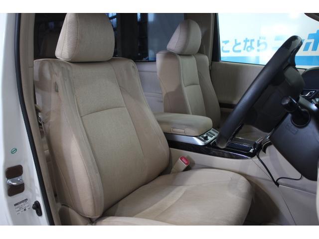 目線が高く運転がしやすい。ホールド性と快適性を兼ね備えたフロントシート!