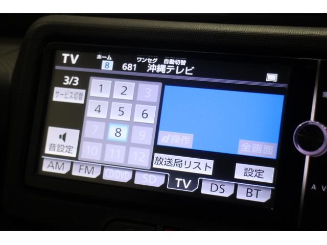 CD/DVD/SD/Bluetooth/フルセグTV機能付き純正ナビ