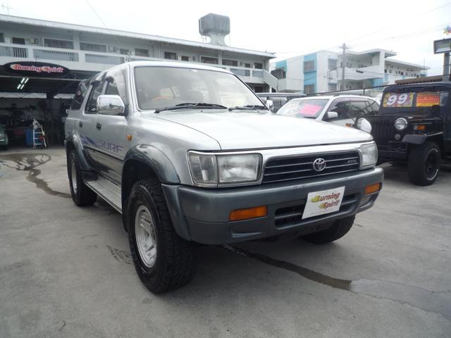 「トヨタ」「ハイラックスサーフ」「SUV・クロカン」「沖縄県」の中古車4