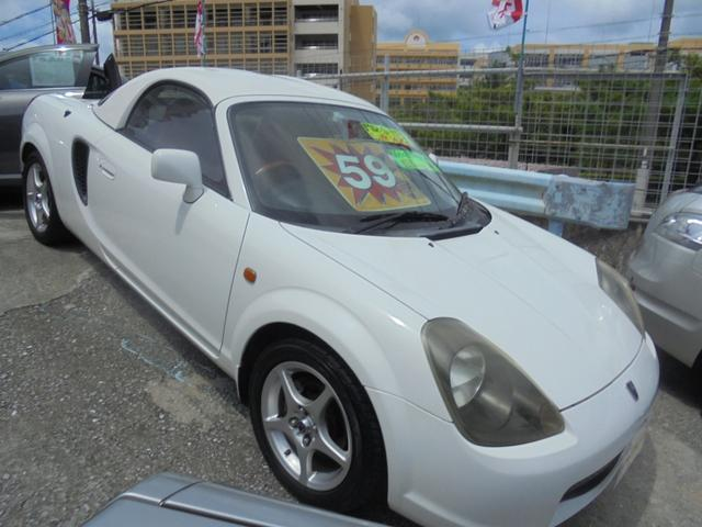 「トヨタ」「MR-S」「オープンカー」「沖縄県」の中古車6
