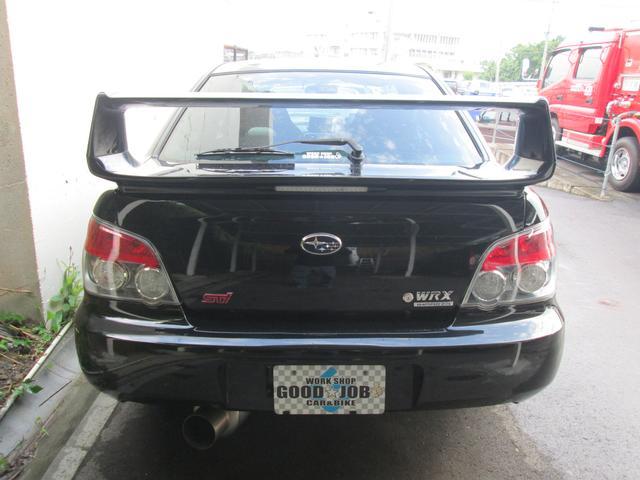 WRX AWD MT5速 ICターボ 社外マフラー HID(6枚目)