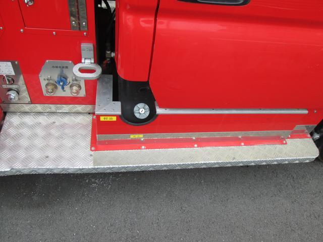 元消防車 ディーゼル ハイルーフ Wキャブ MT5速(14枚目)