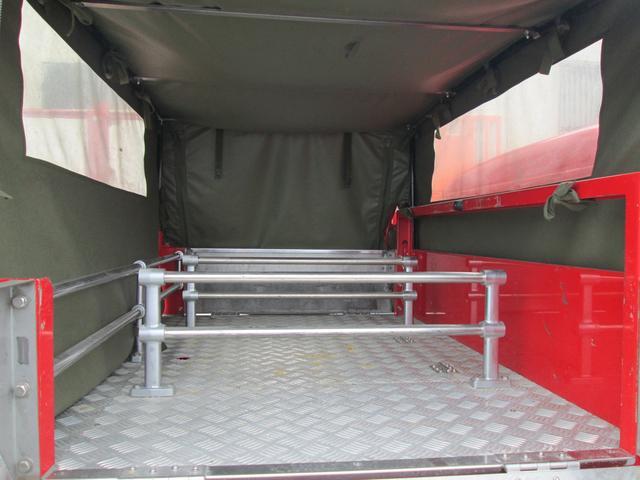 元消防車 ディーゼル ハイルーフ Wキャブ MT5速(19枚目)