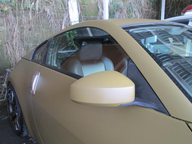 ベースグレード HKS車高調 柿本マフラー Z34RAYZ19インチアルミ 後期用LEDテール 純正HIDヘッドライト シートカバー(17枚目)