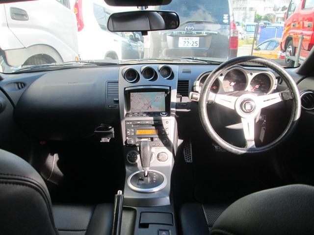 ベースグレード HKS車高調 柿本マフラー Z34RAYZ19インチアルミ 後期用LEDテール 純正HIDヘッドライト シートカバー(26枚目)