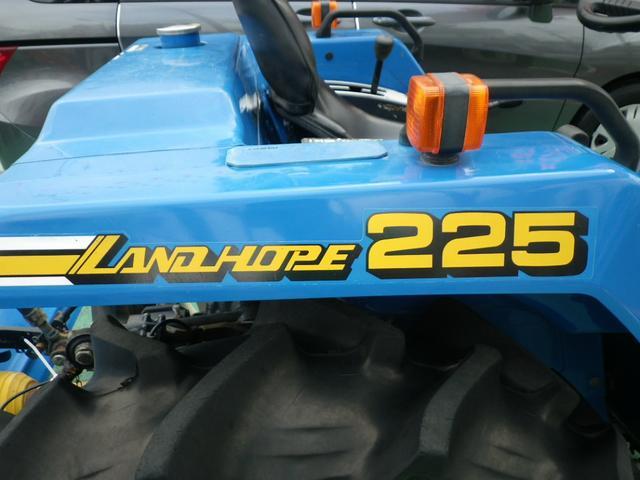 日本その他 日本 ISEKI トラクター LANDHOPE225