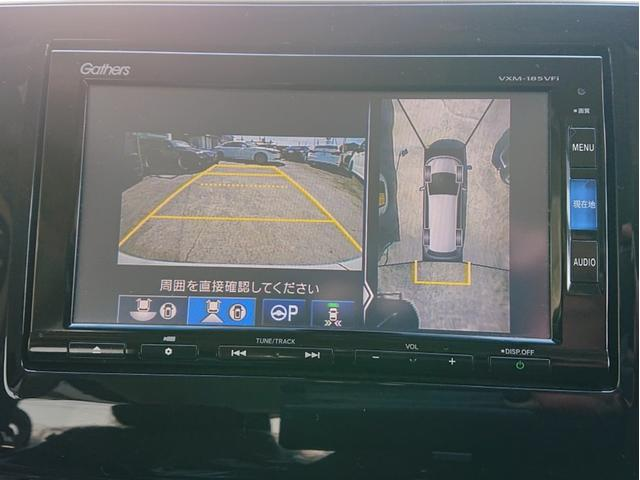 スパーダハイブリッド G ホンダセンシング ギャザズインターナビ ギャザズフリップダウンモニター アラウンドビューモニター両側パワースライドドア ワンオーナー車 ETC LEDヘッドライト 2年保証(19枚目)