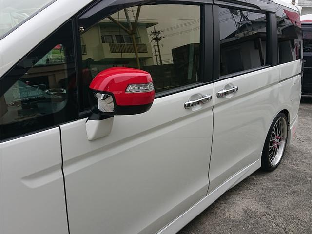 Z ストラーダ8インチナビ・TV・DVD・Bluetooth 10インチフリップダウンモニター 19インチアルミホイル 車高調 無限フルエアロ 社外マフラー 社外HIDライト 社外LEDテール 2年保証(9枚目)