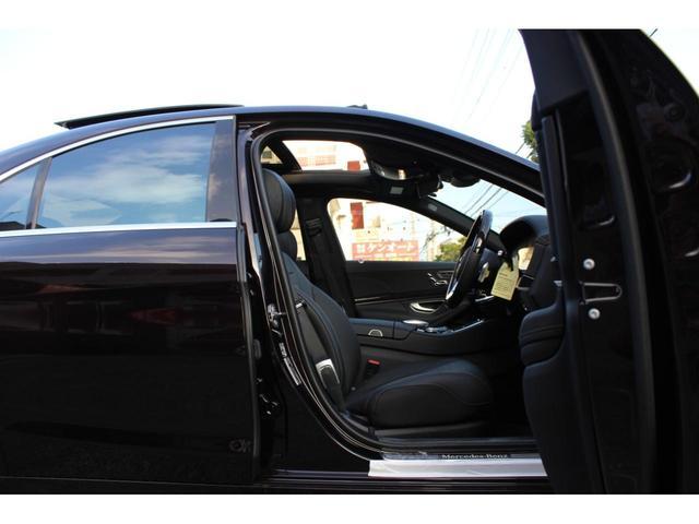S400AMGラインレザーエクスクルーシブ パッケージ ディーラー車・禁煙車・純正ナビ TV・360カメラ・ワンオーナー・パノラミックスライディングルーフシートヒーター・シートエアコン・本土仕入(28枚目)
