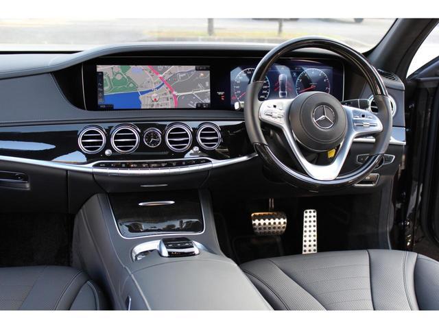 S400AMGラインレザーエクスクルーシブ パッケージ ディーラー車・禁煙車・純正ナビ TV・360カメラ・ワンオーナー・パノラミックスライディングルーフシートヒーター・シートエアコン・本土仕入(40枚目)