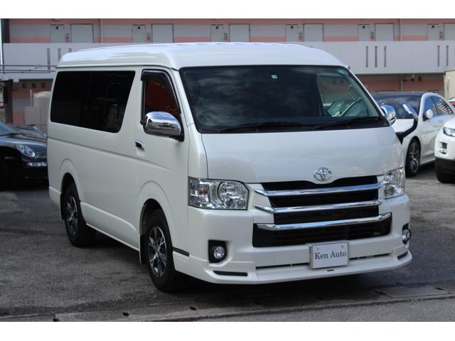 「トヨタ」「ハイエース」「ミニバン・ワンボックス」「沖縄県」の中古車4