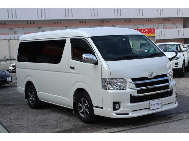 「トヨタ」「ハイエース」「ミニバン・ワンボックス」「沖縄県」の中古車5