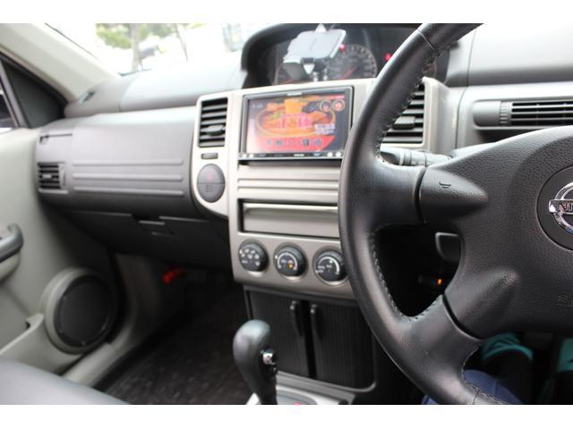 X 社外ナビ TV バックカメラ インテリジェントキー ETC シートヒーター 4WD ドアバイザー 純正AW フロアマット・本土仕入れ(37枚目)