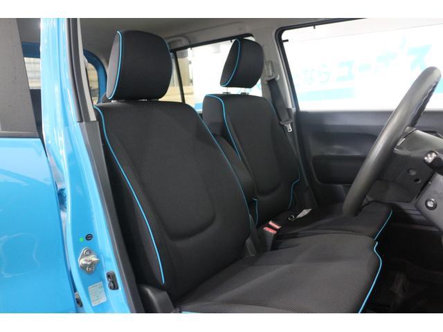 ホールド性と快適性を兼ね備えたフロントシート(シートヒーター機能付き)