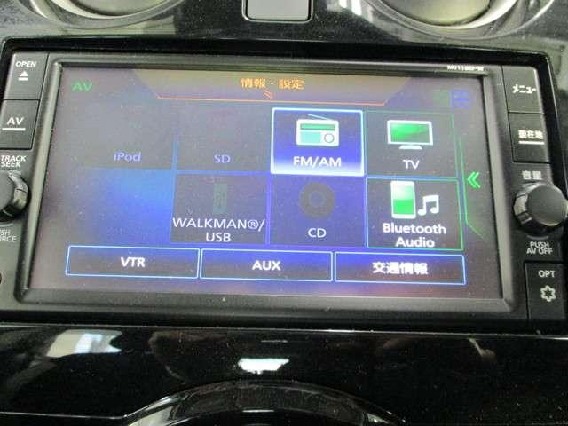 サクサク動く画面タッチパネル操作の純正7インチメモリーナビ。