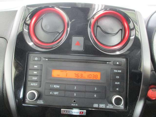 CD、ラジオ機能付。