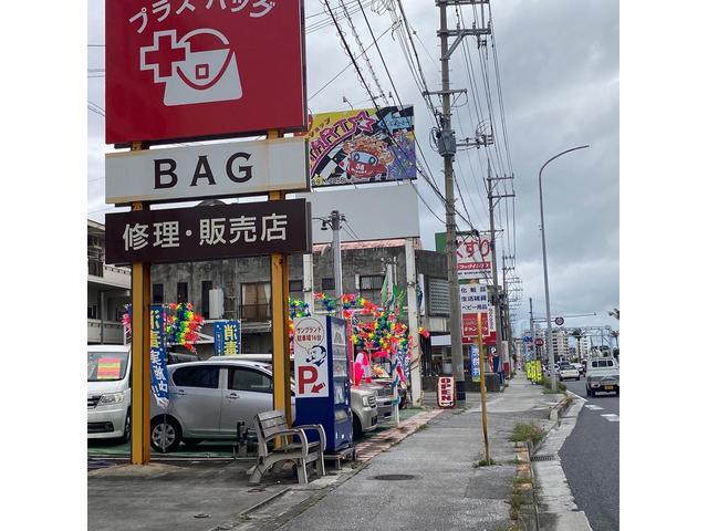 58号線美浜です!沖縄の守り神かわいいシーサーの看板が目印!ヾ(≧▽≦)ノ