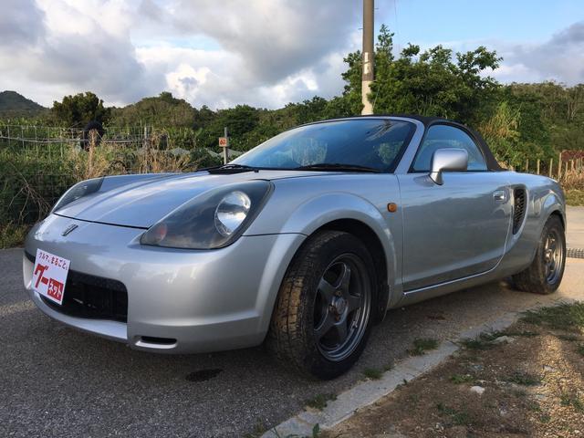 「トヨタ」「MR-S」「オープンカー」「沖縄県」の中古車4