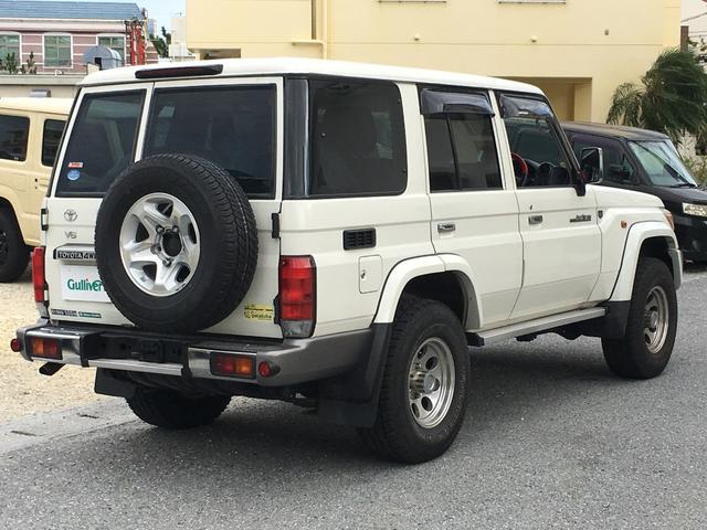 「トヨタ」「ランドクルーザー70」「SUV・クロカン」「沖縄県」の中古車7
