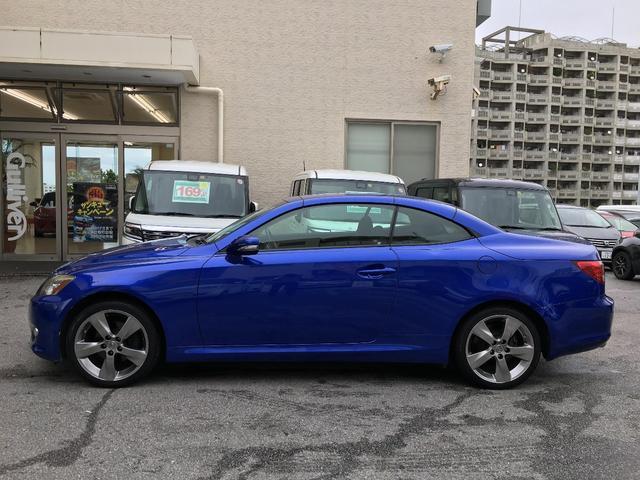 「レクサス」「IS」「オープンカー」「沖縄県」の中古車4
