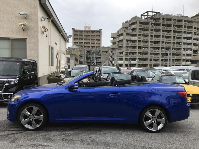 「レクサス」「IS」「オープンカー」「沖縄県」の中古車11
