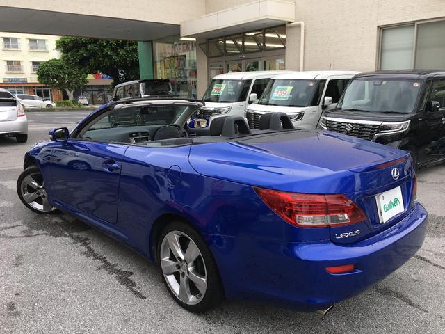 「レクサス」「IS」「オープンカー」「沖縄県」の中古車12