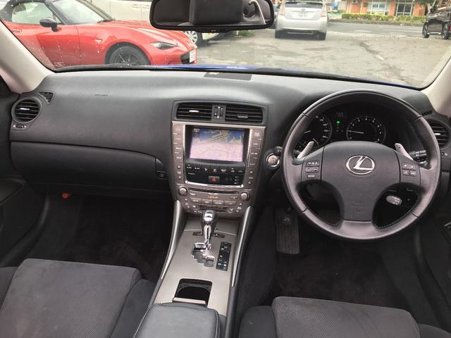 「レクサス」「IS」「オープンカー」「沖縄県」の中古車15