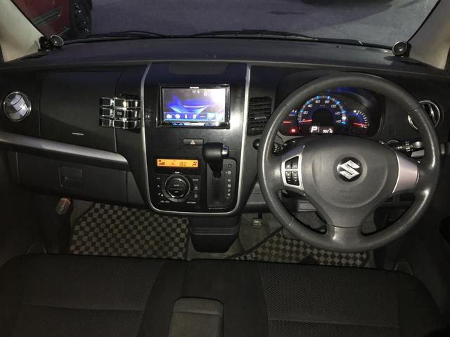 T プッシュスタート スマートキー ターボ車 モニター付きオーディオ 社外AW HIDヘッドライト サイドバイザー(11枚目)