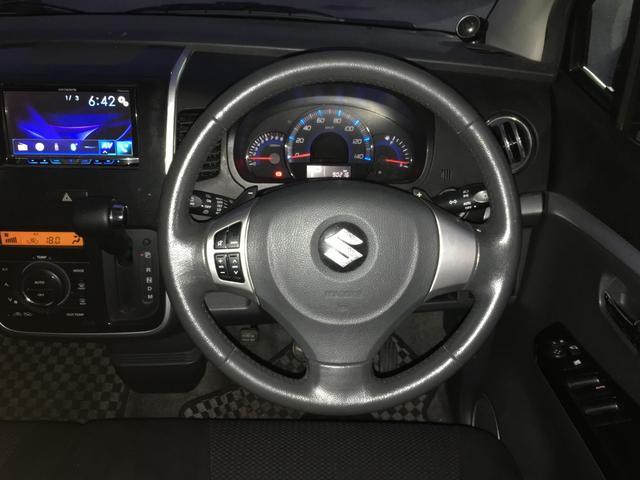 T プッシュスタート スマートキー ターボ車 モニター付きオーディオ 社外AW HIDヘッドライト サイドバイザー(12枚目)