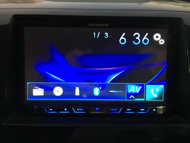 T プッシュスタート スマートキー ターボ車 モニター付きオーディオ 社外AW HIDヘッドライト サイドバイザー(14枚目)