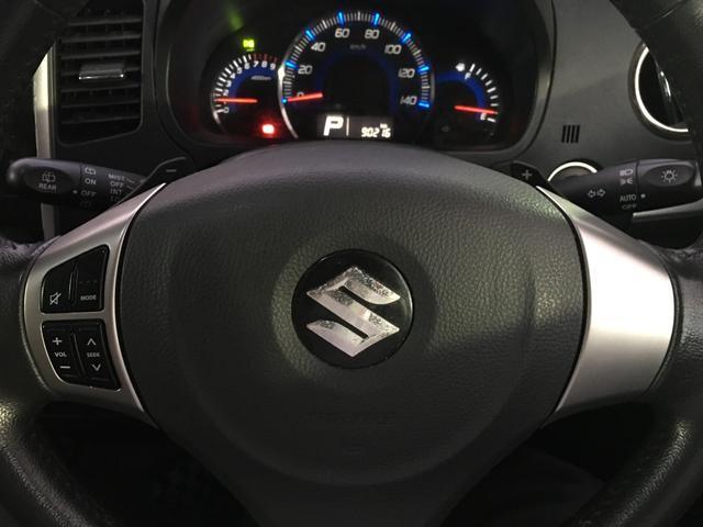T プッシュスタート スマートキー ターボ車 モニター付きオーディオ 社外AW HIDヘッドライト サイドバイザー(17枚目)
