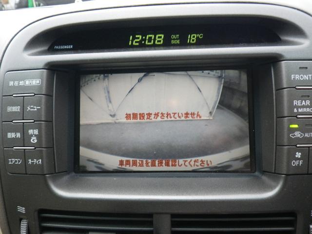 トヨタ セルシオ C仕様 純正マルチナビ