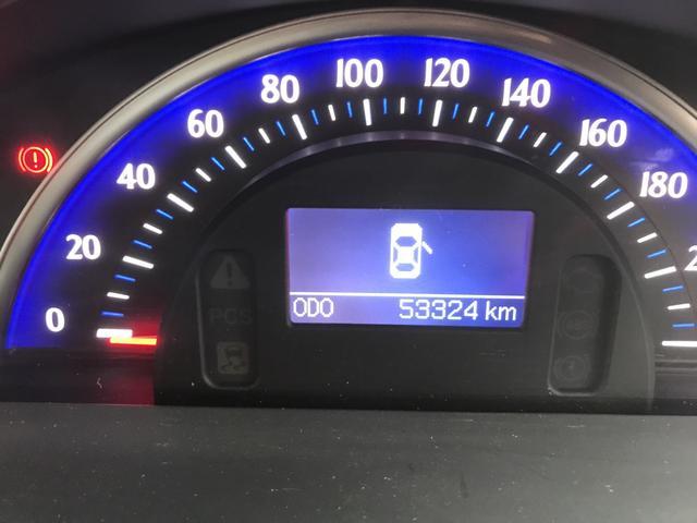 走行距離は約5.4万キロです。