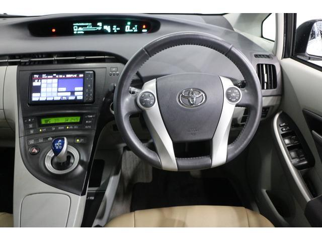 トヨタ プリウス 10年保証対象車 S LEDエディション 純正ナビ